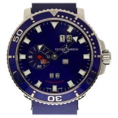Ulysse Nardin 333-77-7 Marine Steel Aqua Limited Edition 2 Year Warranty #I2023