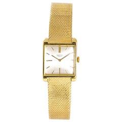 Audemars Piguet Women's Vintage Mechanical Hand Wind 18 Karat Yellow Gold Watch