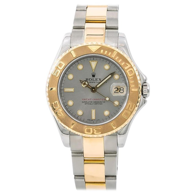 Rolex 68623 Yacht-Master Unisex Two-Tone Stainless Steel Automatic Watch