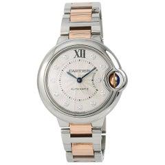 Cartier Ballon Bleu 3489 WE902061 Women's Automatic Watch Two-Tone SS