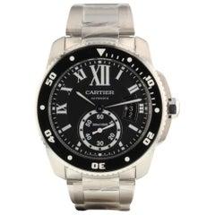 Cartier Calibre de Cartier Diver Men's Steel Automatic Watch W7100057