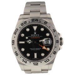Rolex Explorer II Steel Black Dial Automatic Men's Watch 216570 Scrambled