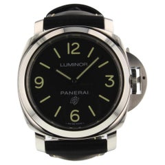 Panerai Luminor Base Logo 3 Days Steel Manual Watch PAM00773