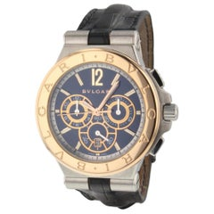 Bulgari Diagono Chronograph Automatic Blue Automatic Watch DG42C3SPGLDCH