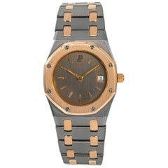 Audemars Piguet Royal Oak 59102 Women's Quartz Watch 18 Karat Tantalum Rose Gold