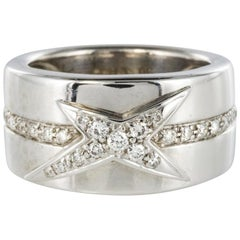Mauboussin Diamonds 18 Karat White Gold Band Ring