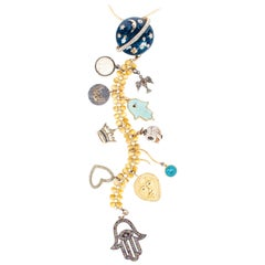 Clarissa Bronfman 'Planetary Passion' Symbol Tree Necklace