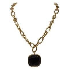 Pomellato Jet Rose Gold Necklace