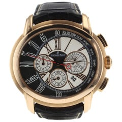 Audemars Piguet Millenary Chrono 18 Karat Rose Gold Watch
