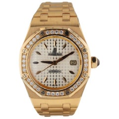 Audemars Piguet Royal Oak 18 Karat Rose Gold Watch AP Box