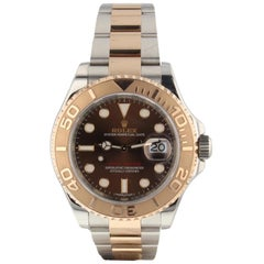 Rolex Yacht Master Steel 18 Karat Rose Gold Automatic Watch 116621 Papers 2017