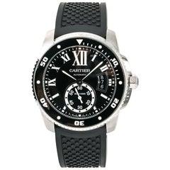 Cartier Calibre De Diver 3729 W7100056 Herren Automatik Uhr mit Box und Papiere