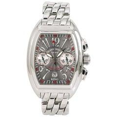Franck Muller Conquistador 8005 CC King Men's Automatic Watch Silver Dial SS