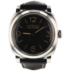 Panerai Radiomir Marina Militare 3 Days Steel Manual Watch PAM00587