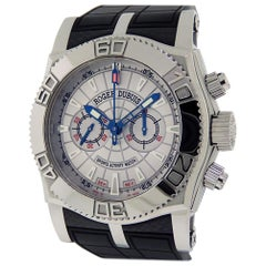 Roger Dubuis Easy Diver Chronograph Lemania SE46 56 9 35.3 Sports Activity Watch