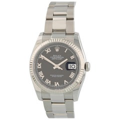 Rolex Datejust 116234 with Band, Stainless-Steel Bezel and Black Dial