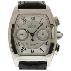 Paul Picot Rattrapante 521SG Automatic Steel Silver Box/Paper/2 Year Warranty