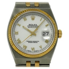Rolex Datejust Oysterquartz Steel Gold Integral Bracelet 2 Year Warranty #I2672