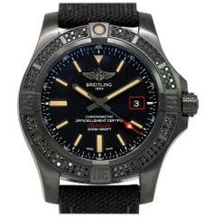 Breitling New Avenger Blackbird V17311AT/BD74 Titanium Box/Paper/Warranty