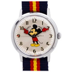 Helbros 17 Jewel Mickey Mouse Watch, circa 1970s