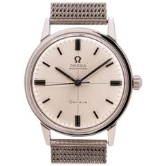 Omega Automatic Geneve Stainless Steel Watch Ref# 165.002, circa 1968