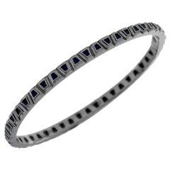 18 Karat White Gold Theodora Bracelet