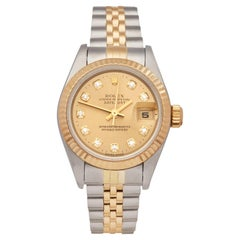 Rolex Datejust 26 Stainless Steel and 18K Yellow Gold 69173G