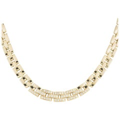 Cartier Diamond Panthere Maillon Necklace