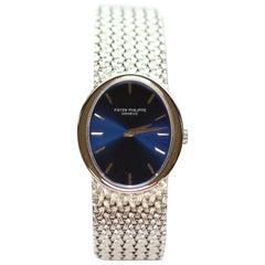 18 Karat White Gold Patek Philippe Wrist Watch