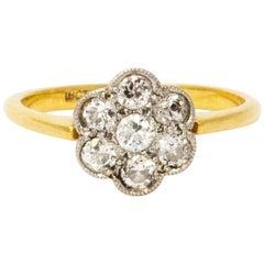 Edwardian Diamond 18 Carat Gold Ring