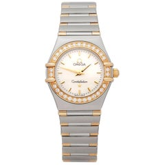 Omega Constellation Stainless Steel and 18K Yellow Gold 1277.3 Wristwatch