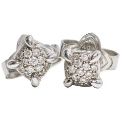 David Yurman Small Stud Earrings with Diamonds