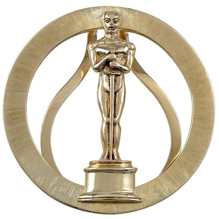 Gold Tiffany & Co. Oscar Money Clip For Sale
