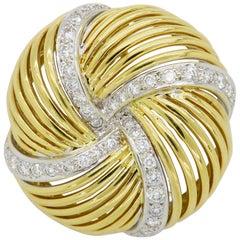 Sabbadini Milano Diamond Brooch