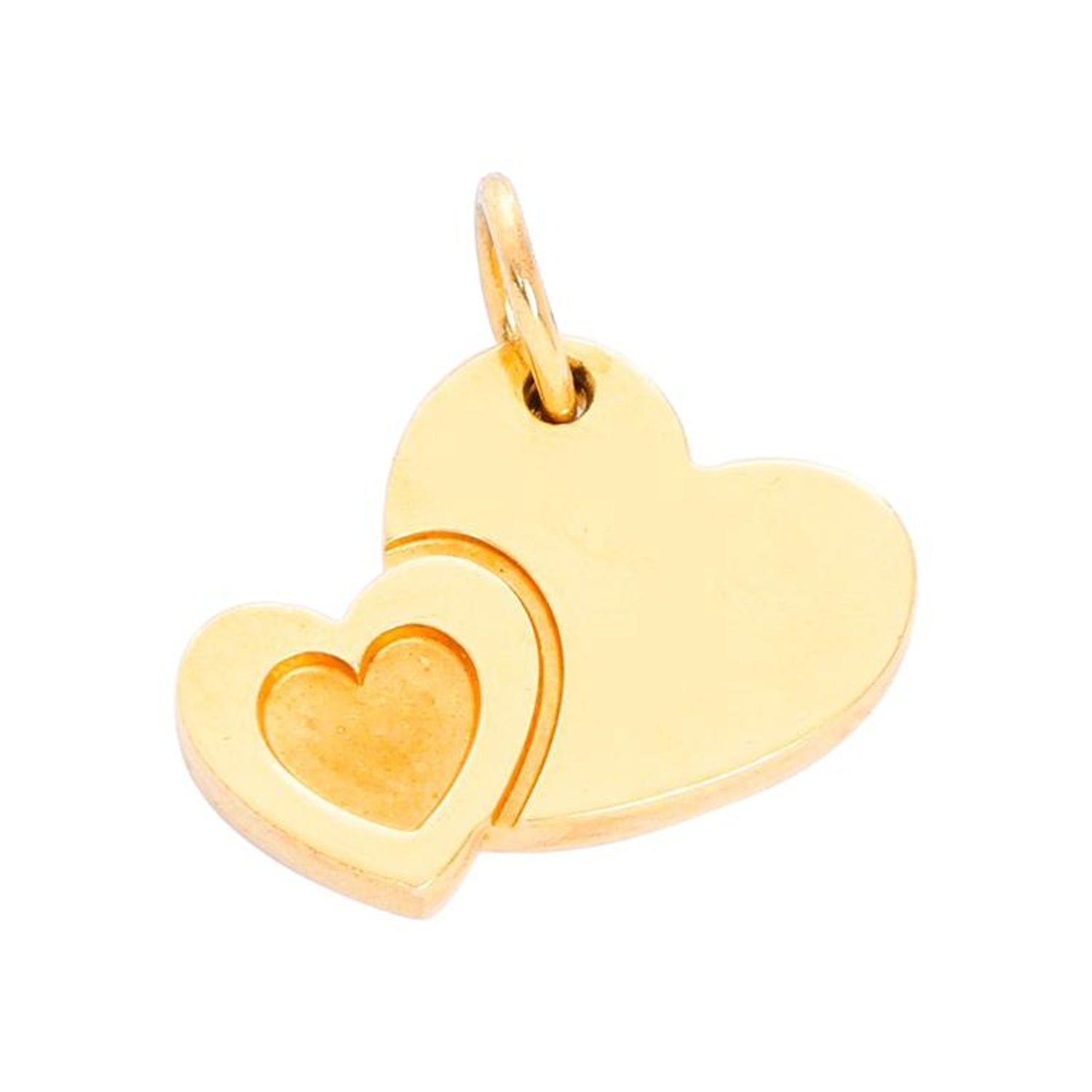 84a4f05a9 Tiffany and Co. Yellow Gold Heart Charm at 1stdibs