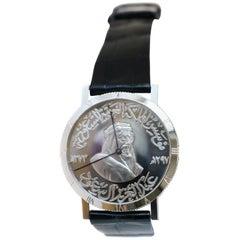 Chopard 18 Karat White Gold Men's Wristwatch