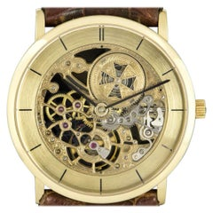 Vacheron Constantin Squelette Yellow Gold Skeleton 33114/000J Manual Wind Watch