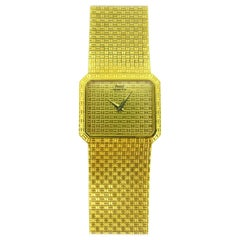 Piaget Seventies Yellow Gold Vintage Wristwatch