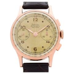 Vintage Zodiac Chronograph Watch, 1950s