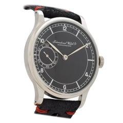 Vintage IWC Pocket Watch Conversion to Wristwatch, 1927