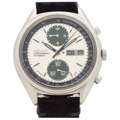 Vintage Seiko Panda Day-Date Chronograph Reference 6138-8020 Watch, 1977