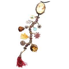 Clarissa Bronfman 'Empire of the Senses' Symbol Tree Necklace