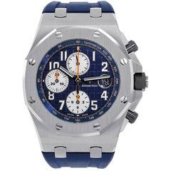 Audemars Piguet Offshore Navy Chronograph Watch 26470ST.OO.A027CA.01