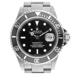 Rolex 16610 F Submariner 16610LN Sub Stainless Steel Diver Swiss Automatic Watch