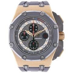 Audemars Piguet Michael Schumacher 18K Rose Gold & Titanium 26568OM.OO.A004CA.01