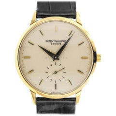 Patek Philippe 3893 Calatrava 3893J-001 18 Karat Gold Swiss Manual Wind Watch