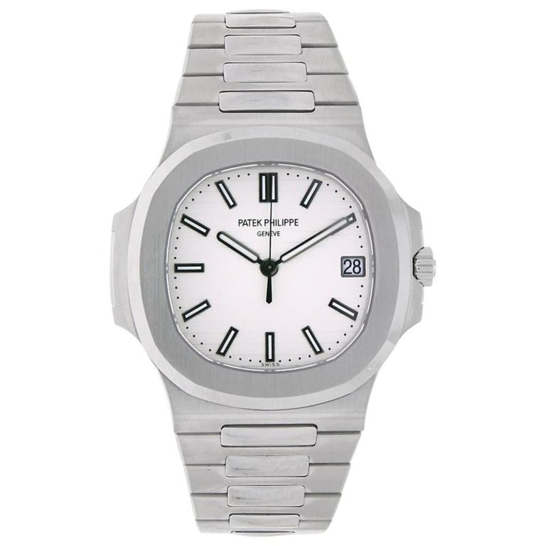 a42c69085f3 Patek Philippe Nautilus Men's Stainless Steel Watch 5711/1A-011 For Sale