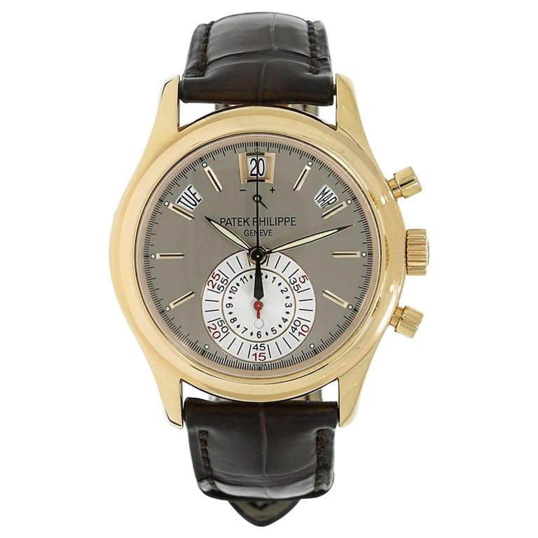 Patek Philippe Complications Annual Calendar Chronograph Watch 5960R-001 For Sale