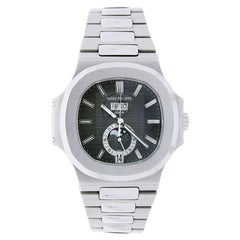 Patek Philippe Nautilus Moon Phase Stainless Steel Grey Dial Watch 5726/1A-001