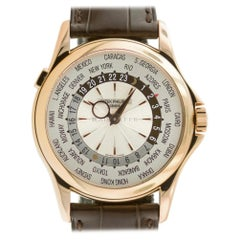 Patek Philippe 5130R-001 Complications World Time 5130 18K Rose Gold Box Papers